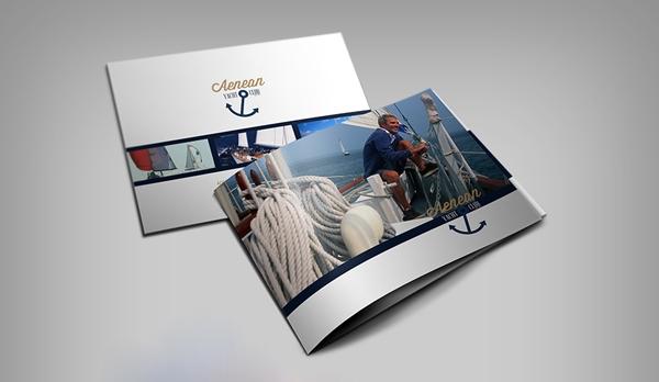 Пример дизайна брошюр