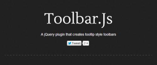 Toolbar.js для jQuery и Bootstrap: гибкие панели инструментов в стиле iOS