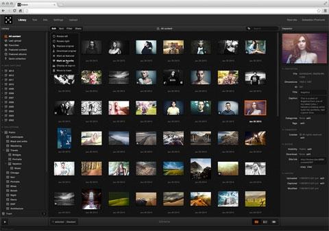 Koken: впечатляющая бесплатная CMS для креативных веб-сайтов