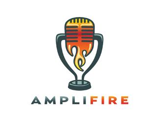 Логотип с микрофоном