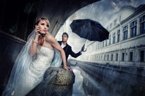 Потрясающие свадебные фотографии Сергея Иванова