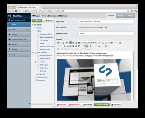 Когда следует разрабатывать сайт на CMS SilverStripe (и когда этого делать не стоит)