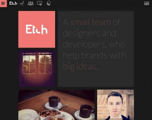 21 пример использования красивых цветов в веб-дизайне