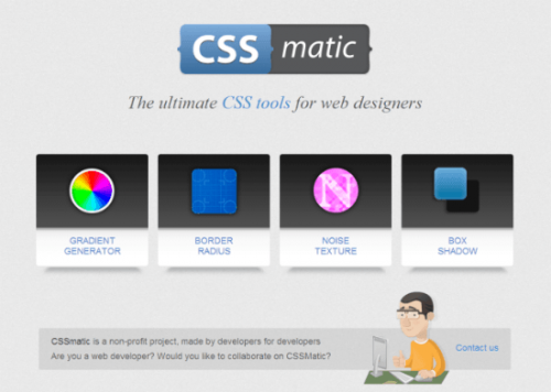 CSS Matic: WYSIWYG для CSS-разработчиков