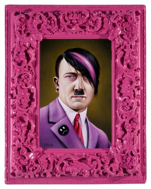 Мягкие портреты жёстких деятелей от Скотта Шайдли (Scott Scheidly)