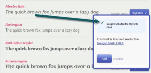 SkyFonts: лучший способ применения Google Fonts на настольном ПК
