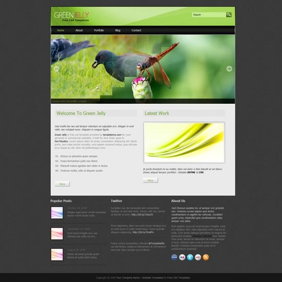 Dtbaker curvy and clean - html template