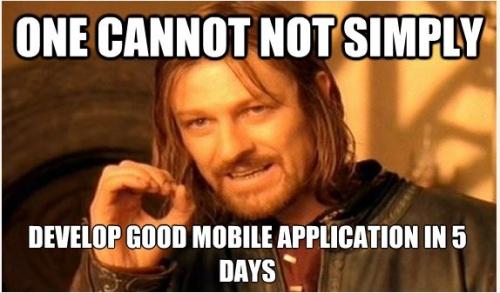 Разработка мобильного приложения: что? когда? как?