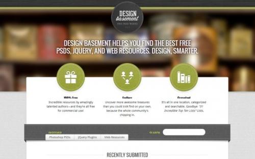 25 веб-сайтов с красивыми размытыми фонами