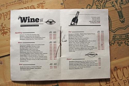 Дизайн ресторанного меню