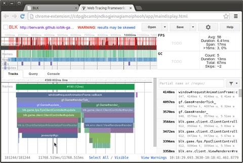 Анализируем производительность приложений на Javascript при помощи Web Tracing Framework