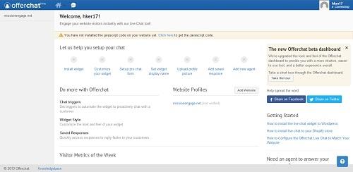 Интегрируем функционал live-чата в ваш сайт при помощи Offerchat