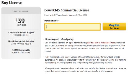 Простое управление контентом при помощи CouchCMS