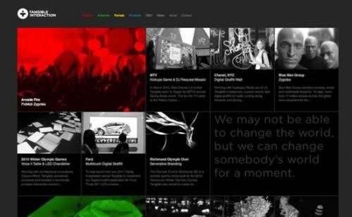 Дизайн сайтов для вдохновения