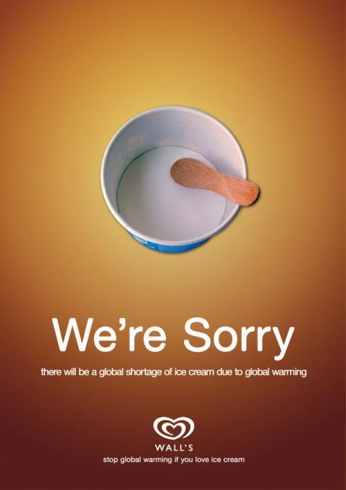 38 креативных постеров с предостережением о глобальном потеплении