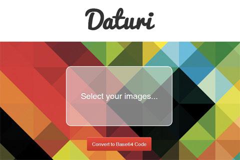 Daturi: конвертируем изображения в base64