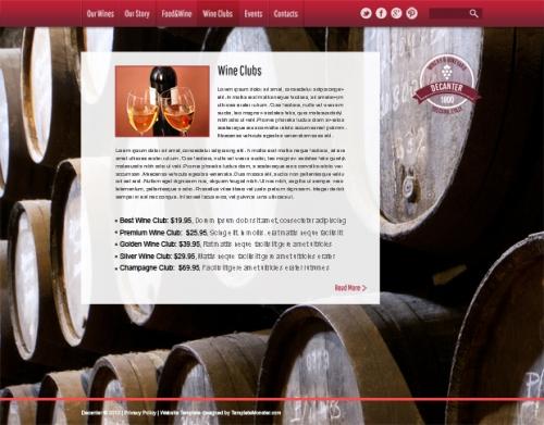 4 причины, по которым вы полюбите новый бесплатный HTML5-шаблон Wine & Winery