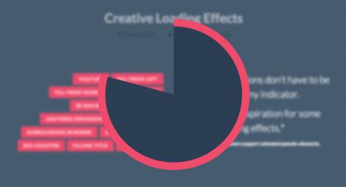 Создаем креативные эффекты загрузки