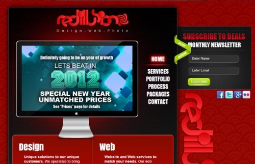 Красный сайт