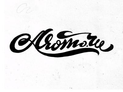Примеры дизайна эмблем с рукописным текстом