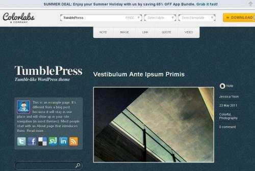 15 бесплатных адаптивных WordPress-тем оформления