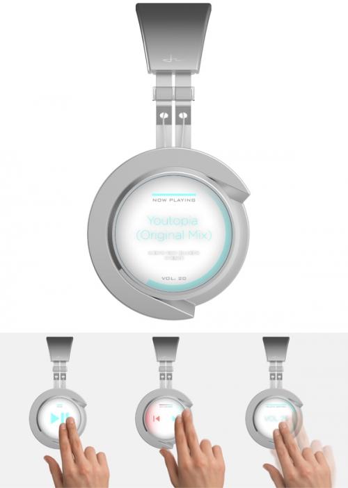 20 креативных дизайнов наушников для меломанов