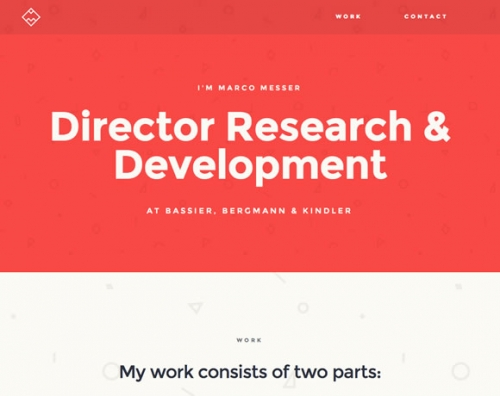 15 красивых веб-дизайнов с текстурами