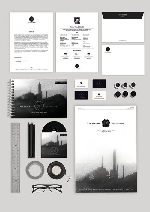 20 оригинальных находок в разработке фирменной символики и оформлении атрибутики вам на заметку