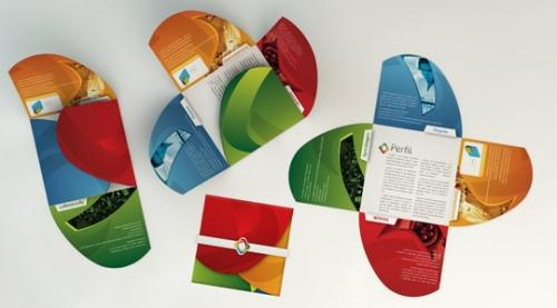 Подборка красивых буклетов интересного дизайна