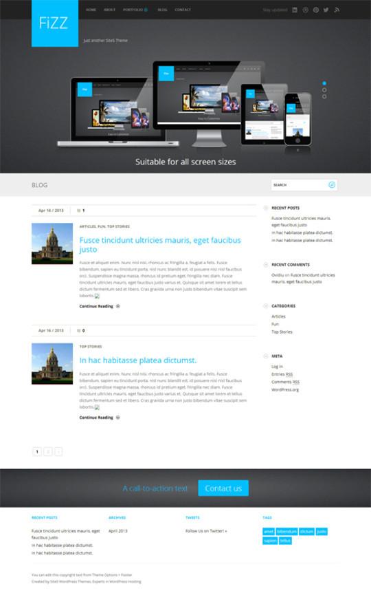 Адаптивные шаблоны сайтов html5 css3 бесплатно - 7fba6