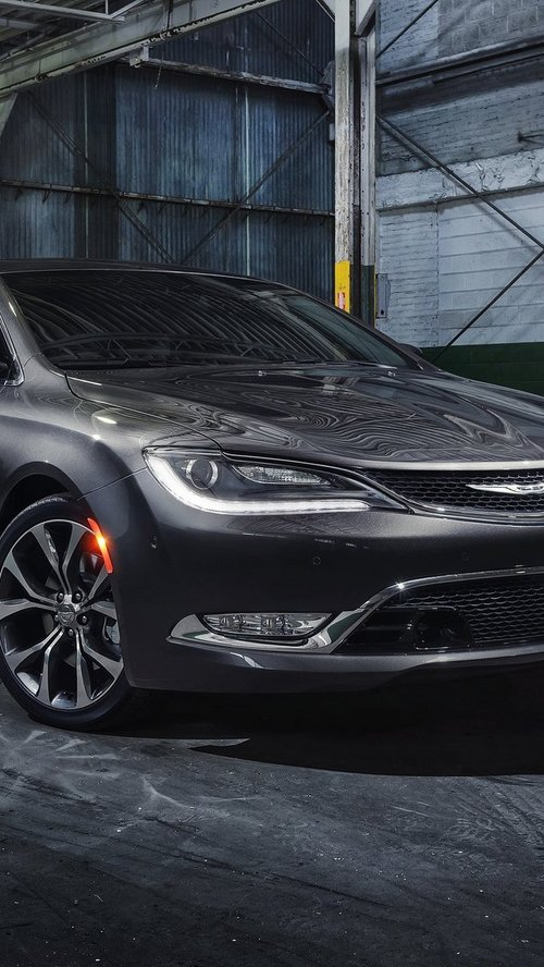 Обои для iPhone 5: Chrysler 200 (2015)