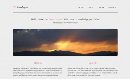 Первоклассные бесплатные адаптивные HTML5-шаблоны