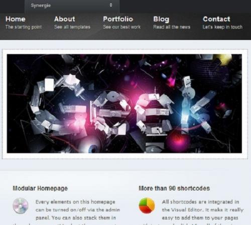 Гибкие и адаптивные Wordpress-шаблоны для портфолио (Платное)