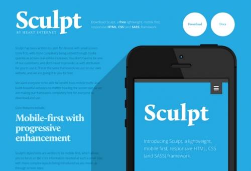 Sculpt: фреймворк для разработки адаптивных шаблонов, в первую очередь направленных на мобильные устройства