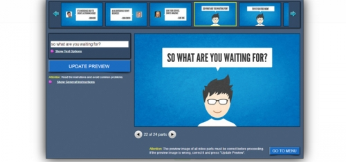 Создаем профессиональное рекламное видео онлайн