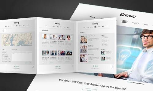 Бесплатный HTML5-шаблон бизнес-сайта