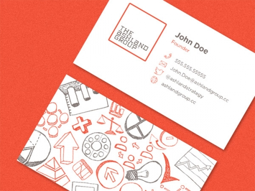 20 примеров шикарного дизайна визиток