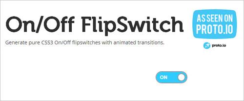 Создаем on/off-переключатель при помощи FlipSwitch Generator на чистом коде CSS3