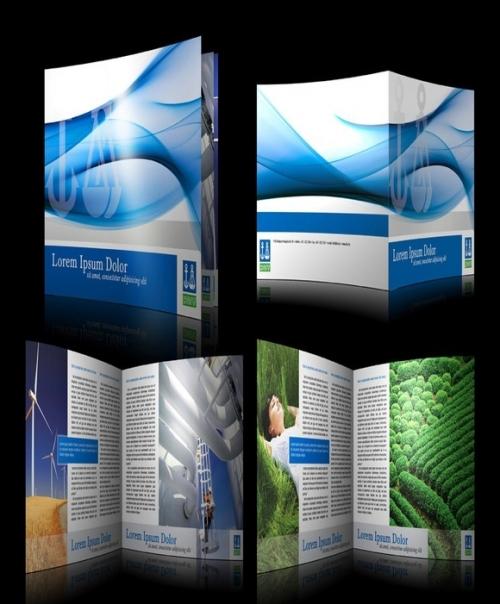 23 примера красивого дизайна брошюр