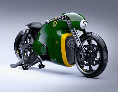 Мотоциклы Lotus
