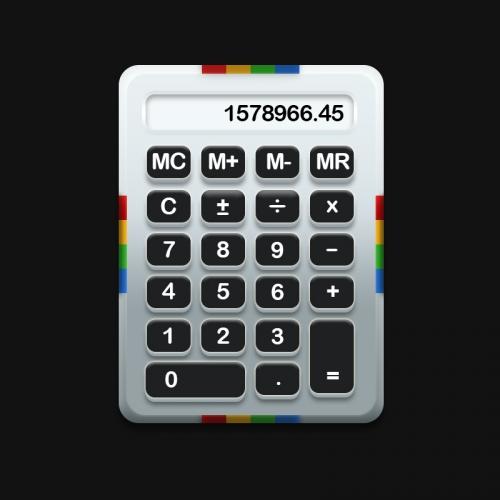 4 бесплатных образца профессионального дизайна UI-интерфейсов калькуляторов