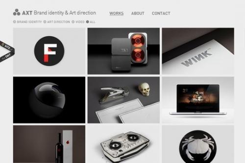 Потрясающие оттенки серого в веб-графике