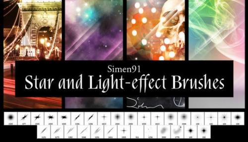20 бесплатных Photoshop-кистей для создания световых эффектов