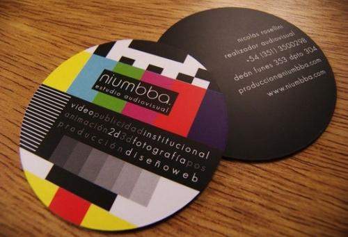 Примеры современного и изящного дизайна визитных карточек
