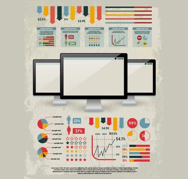 Шаблон для инфографики скачать