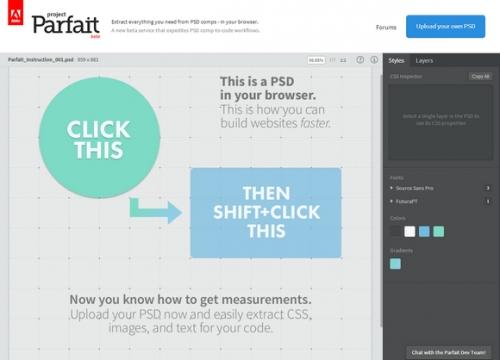 Извлекаем слои из PSD-файлов при помощи Project Parfait