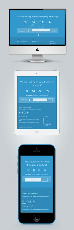 AGMANA: бесплатный шаблон страницы «Скоро открытие»