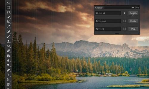 Griddify: Photoshop-панель для создания сеток и направляющих