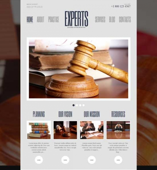 Более 30 юридических шаблонов для Wordpress за 2014 (преимущественно платное)