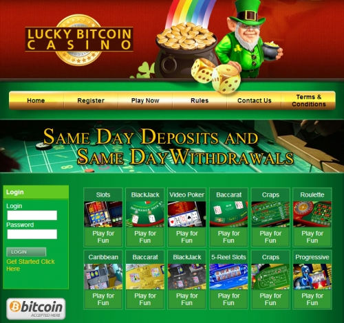 Бесплатные игры в Bitcoin-казино